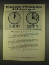 1976 Distilled Spirits Council of the United States Ad - $14.99