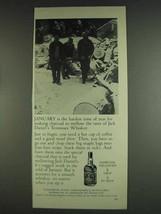 1978 Jack Daniel's Whiskey Ad - January Making Charcoal - $14.99