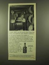 1975 Jack Daniel's Whiskey Ad - Happening Inside Barrel - $14.99