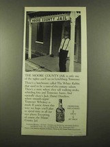 1975 Jack Daniel's Whiskey Ad - The Moore County Jail - $14.99