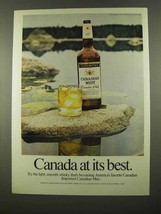 1975 Canadian Mist Whisky Ad - Best - $14.99