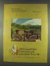 1977 Old Grand-Dad Bourbon Ad - $14.99
