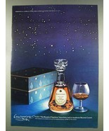 1977 Courvoisier V.O.C. Cognac Ad - Baccarat Crystal - $14.99