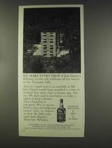 1977 Jack Daniel's Whiskey Ad - We Make Every Drop - $14.99