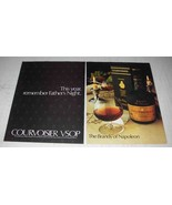 1980 Courvoisier Cognac Ad - Remember Father's Night - $14.99