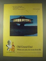 1976 Old Grand-Dad Bourbon Ad - Pine Forests - $14.99