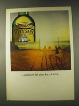 1976 Cutty Sark Scotch Ad - And Now It's Time - $14.99