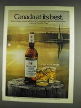 1978 Canadian Mist Whisky Ad - At Best - $14.99