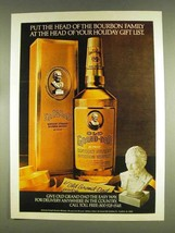1978 Old Grand-Dad Bourbon Ad - Head of Gift List - $14.99
