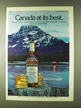 1979 Canadian Mist Whisky Ad - At Best - $14.99