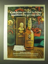 1979 Old Grand-Dad Bourbon Ad - Celebrate Holiday - $14.99