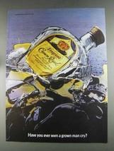 1980 Seagram's Crown Royal Ad - Seen Grown Man Cry - $14.99