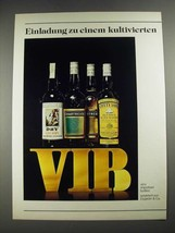 1977 John Peter Dry Sherry, Chartreuse, Cutty Sark Scotch Ad - in German - $14.99