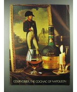 1983 Courvoisier Cognac Ad - The Cognac of Napoleon - $14.99
