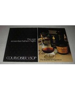 1981 Courvoisier VSOP Cognac Ad - Father's Night - $14.99