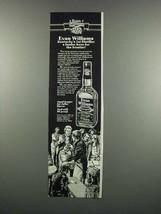 1983 Evan Williams Whiskey Ad - Kentucky's 1st - $14.99