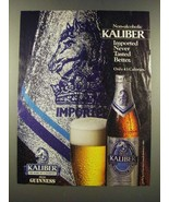1986 Guinness Kaliber Non-Alcoholic Brew Ad - Never Tasted Better - $14.99