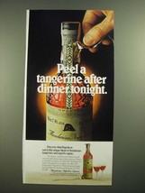 1979 Mandarine Napoleon Liqueur Ad - Peel a Tangerine - $14.99
