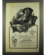 1914 Anheuser-Busch Malt-Nutrine Ad - The Golden Age - $14.99