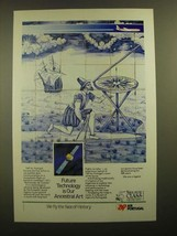 1988 Air Portugal Ad - Future Technology is Our Ancestral Art - $14.99