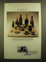 1988 Air France Ad - The Fine Art of Flying by Pavlos - $14.99