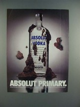 1996 Absolut Vodka - Absolut Primary Ad! - $14.99