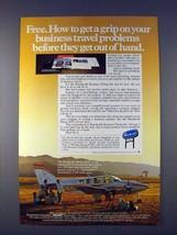 1978 Beechcraft Baron 58TC Plane Ad - Get a Grip - $14.99