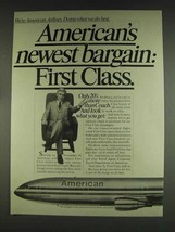 1978 American Airlines Ad - Newest Bargain First Class - $14.99