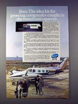 1978 Beechcraft Duke Plane Ad - $14.99