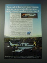 1978 Beechcraft Sierra Plane Ad - Inform You, Excite You - $14.99