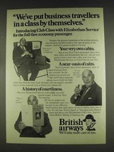 1978 British Airways Ad - Robert Morley - $14.99