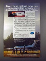 1978 Beechcraft Super King Air Plane Ad - Will Move You - $14.99