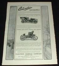 1903 Columbia Mark Xli & Mark Xxxviii Car Ad! - $14.99