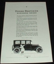 1923 Dodge Business Sedan Ad, NICE!! - $14.99