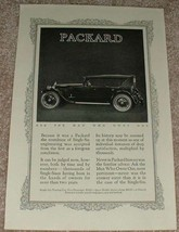 1923 Packard Single Six Touring Car Sports Model Ad!! - $14.99