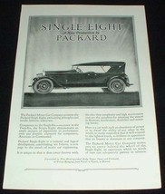 1923 Packard Single Eight Car Ad - A New Production! - $14.99