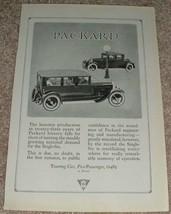 1923 Packard Touring Car 5 passenger Single Six Ad!! - $14.99