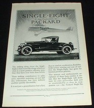 1923 Packard Single Eight Car Ad - New by Packard!! - $14.99
