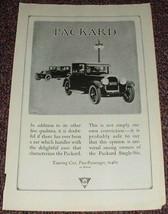 1923 Packard Touring Car, 5-passenger NICE! - $14.99