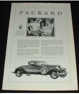 1929 Packard Car Ad, Industrial Craftsman! - $14.99