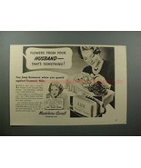1937 Lux Soap Ad w/ Madeleine Carroll - Thats Something - $14.99