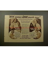 1938 Lux Soap Ad, with Loretta Young & Irene Dunne!! - $14.99
