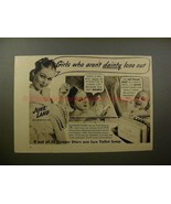 1938 Lux Soap Ad w/ June Lang - Girls Who Aren't Dainty - $14.99