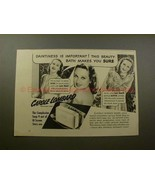 1940 Lux Soap Ad w/ Carole Lombard - Daintiness!! - $14.99