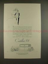 1931 Cadillac 5-passenger Town Sedan w/ Travel Trunk Ad - $14.99
