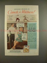 1949 Camel Cigarette Ad - Hugo Castello & Jane Gilbert! - $14.99