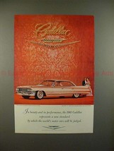 1961 Cadillac Car Ad - In Beauty and Peformance - NICE! - $14.99