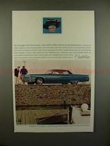 1968 Cadillac Hardtop Sedan DeVille Car Ad - Luxury!! - $14.99