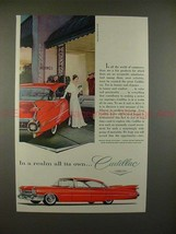 1959 Cadillac Car Ad - In a Realm All Its Own!! - $14.99