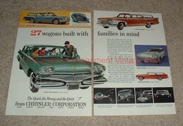 1960 Chrysler Station Wagon Ad, Valiant Plymouth Dodge! - $14.99